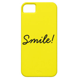 Smile! iPhone 5 Cover