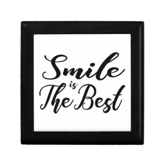 Smile is the best gift box