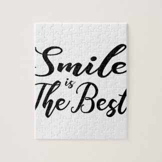 Smile is the best jigsaw puzzle