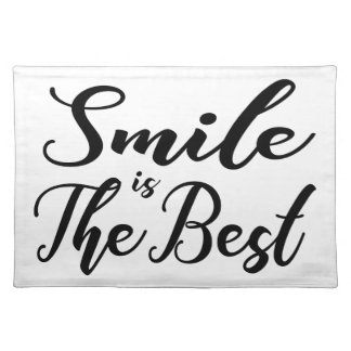 Smile is the best placemat