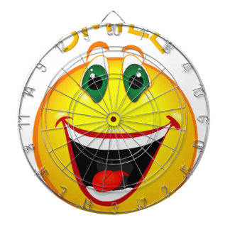 Smile! It's Easier than Frowning Dartboard