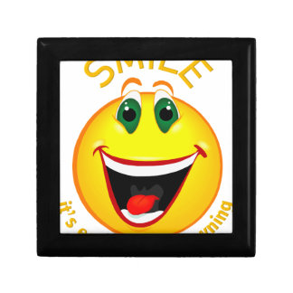 Smile! It's Easier than Frowning Gift Box