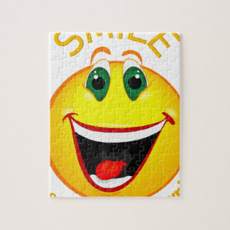 Smile! It's Easier than Frowning Jigsaw Puzzle