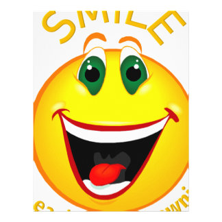 Smile! It's Easier than Frowning Letterhead