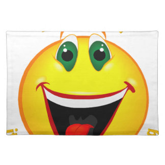 Smile! It's Easier than Frowning Placemat