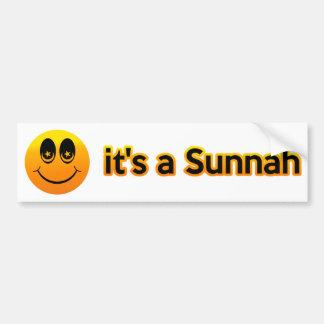Smile it's a Sunnah Bumper Sticker
