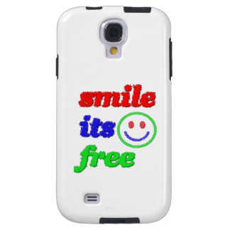 smile its free Samsung Galaxy S4 Case