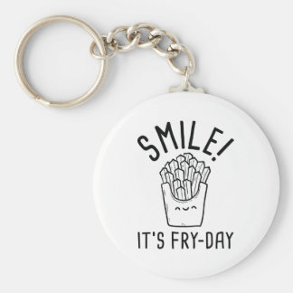 Smile! It's Fry-Day Keychain