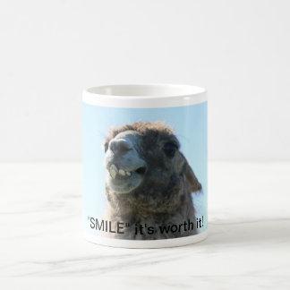 """""""Smile"""" It's Worth It! Coffee Mug"""