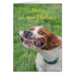 Smile It's Your Birthday Card