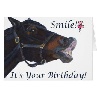 Smile! It's your Birthday Greeting Card