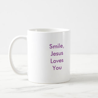 Smile, Jesus Love You! Mug