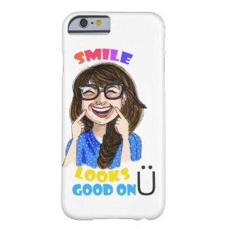 smile looks good on you barely there iPhone 6 case