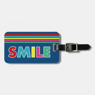 Smile! Luggage Tag