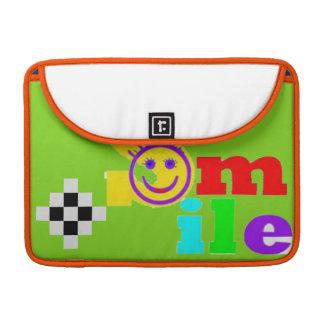 Smile Sleeve For MacBooks