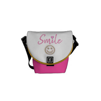 Smile Mini Messenger Bag