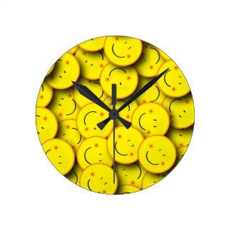 Smile of Smiles Round Clock