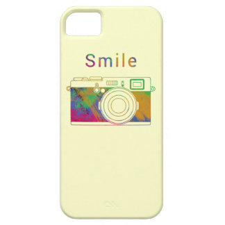 Smile on the camera iPhone 5 cases