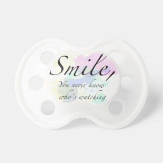 smile pacifier