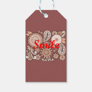 Smile Pack Of Gift Tags