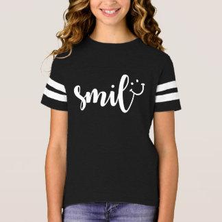 Smile Panda Girls' Football Shirt