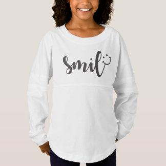 Smile Panda Girls' Spirit Shirt