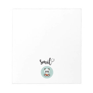 Smile Panda Notepad