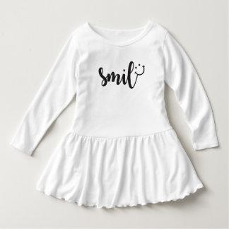 Smile Panda Toddler Ruffle Dress