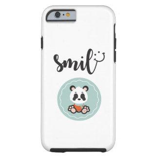 Smile Panda Tough Phone Case