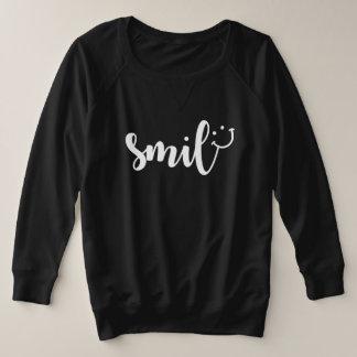Smile Panda Women's Plus-Size Sweatshirt