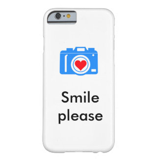 Smile Please i-Phone cover Barely There iPhone 6 Case