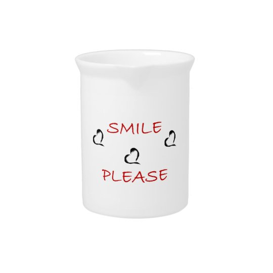 Smile Please Pitcher
