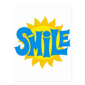 Smile Postcard