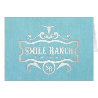 Smile Ranch Thank You NoteCard