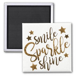Smile Sparkle Magnet