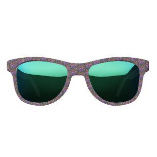 Smile Sparkle Shine Black Multi Coloured Quote Sunglasses
