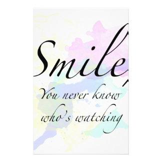 smile stationery