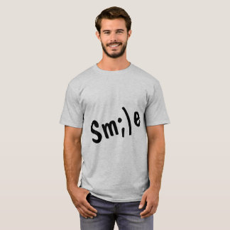 SMILE t-shirt for men