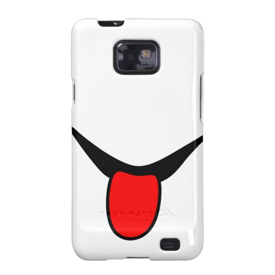 Smile - tongue. galaxy s2 cover