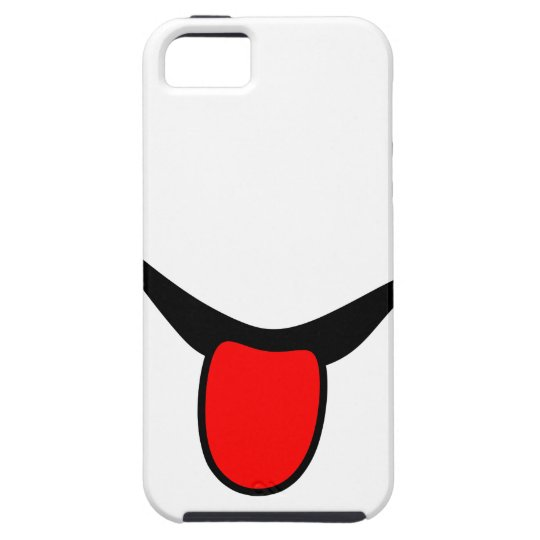 Smile - tongue. iPhone 5 cover