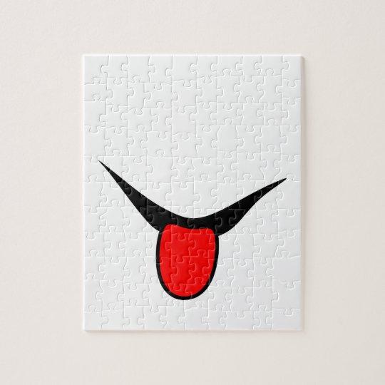 Smile - tongue. jigsaw puzzle
