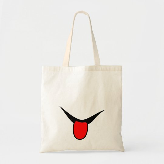 Smile - tongue. tote bag