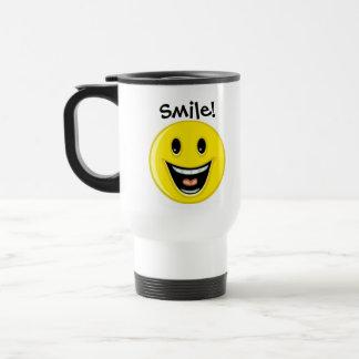 Smile ! travel mug