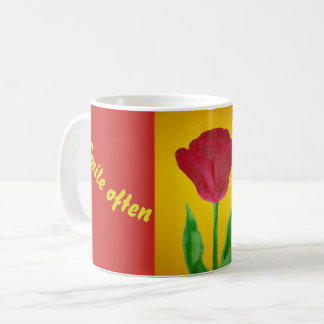 Smile Tulip Mug