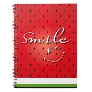 Smile Watermelon Notebook