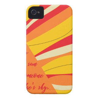 smile you may be the sun in someone elses sky Case-Mate iPhone 4 cases