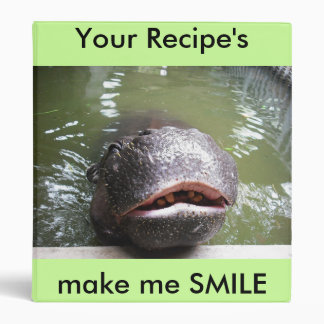 smile, Your Recipe's, make me SMILE Vinyl Binder