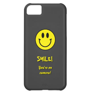 Smile! You're on camera! iPhone 5C Cases