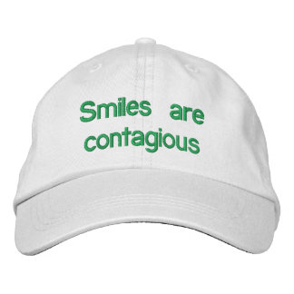 Smiles are contagious - Hat Embroidered Baseball Cap