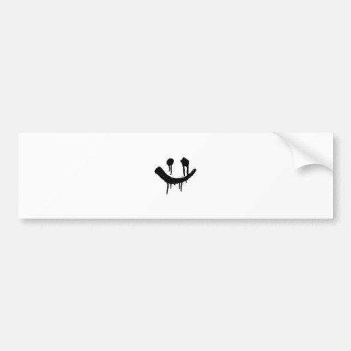 Smiles Bumper Sticker